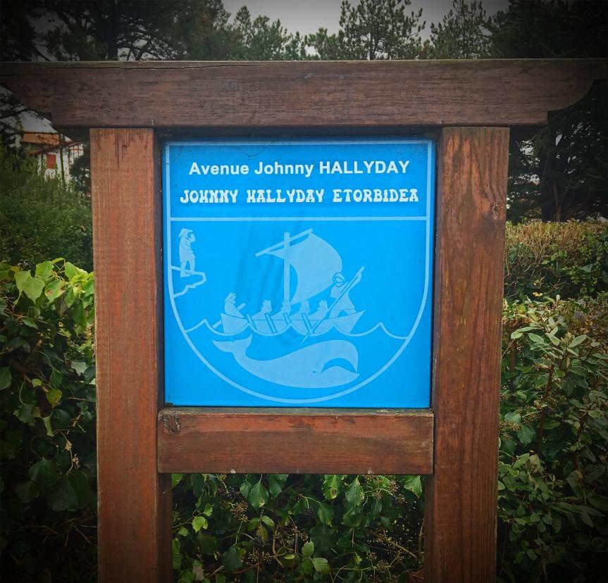 Bientôt une rue Johnny Hallyday à Guéthary?
